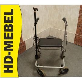 Balkonik rehabilitacyjny Chodzik 4-Koła + laska gratis