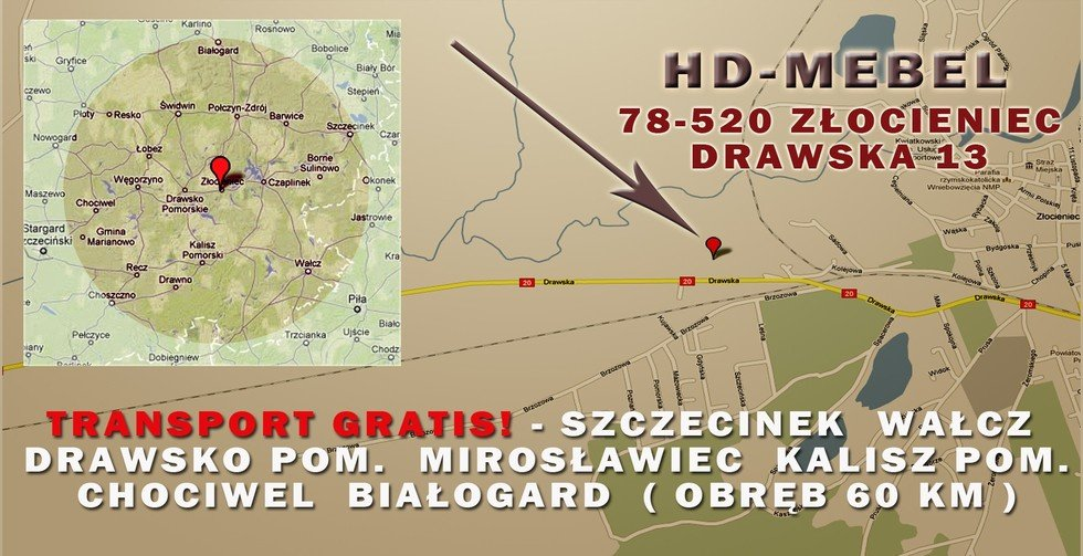 Transport Gratis - Mapa